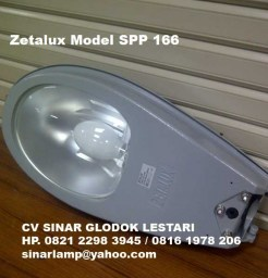 Lampu Jalan PJU Zetalux model SPP 166 Philips