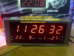 Lampu Jam Digital LED Digital CLOCK 15L