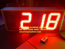 Lampu Count Up LED Digital Display