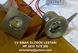 Lampu LED Interior Hotel 1W
