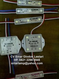 Lampu LED Modul B-Solar Samsung 3Color dan 7Color