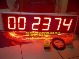 Lampu LED Stopwatch Timer UP