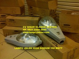 Lampu PJU High Pressure Sodium 150 Watt