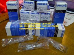 Lampu halogen projector Philips OHP 50w 12v