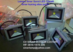 Lampu Sorot Led 10 watt IP65