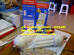 Lampu LHE Super Power Big 4U Hitachi 45W = 240W