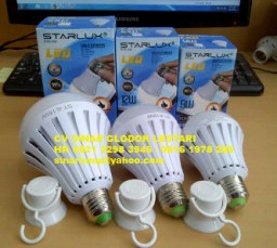 Lampu Emergency LED Bulb 9W 12W 15W STARLUX