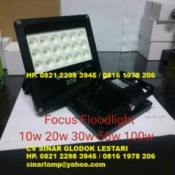 Lampu Sorot LED Fokus atau LED Spot Floodlight