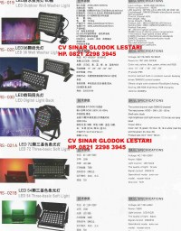 Lampu LED Wall Washer Light