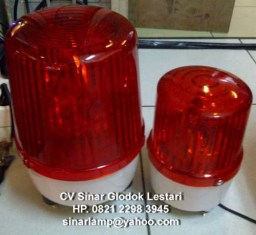 Lampu rotary warning light