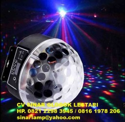 Lampu disco led magic ball light