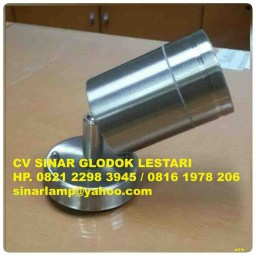 Lampu Sorot Taman MR16 Stainless Steel