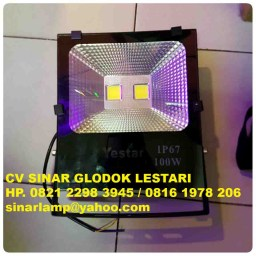 Lampu Sorot LED 100 watt Yestar Reflector Mirror