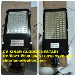 Lampu PJU LED 50 watt dan 100 watt WINGLED