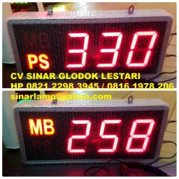 Lampu LED Display Gereja MB PS