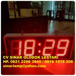 Lampu Display Countdown Timer 4D 8inch