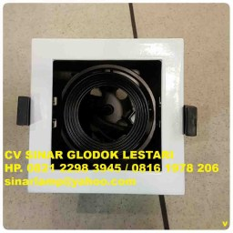 Kap Lampu Downlight LED atau Halogen MR16