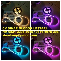 Lampu LED Strip 5050 RGB with Remote Control