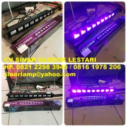 Lampu LED UV BAR 9 x 3W LE 013