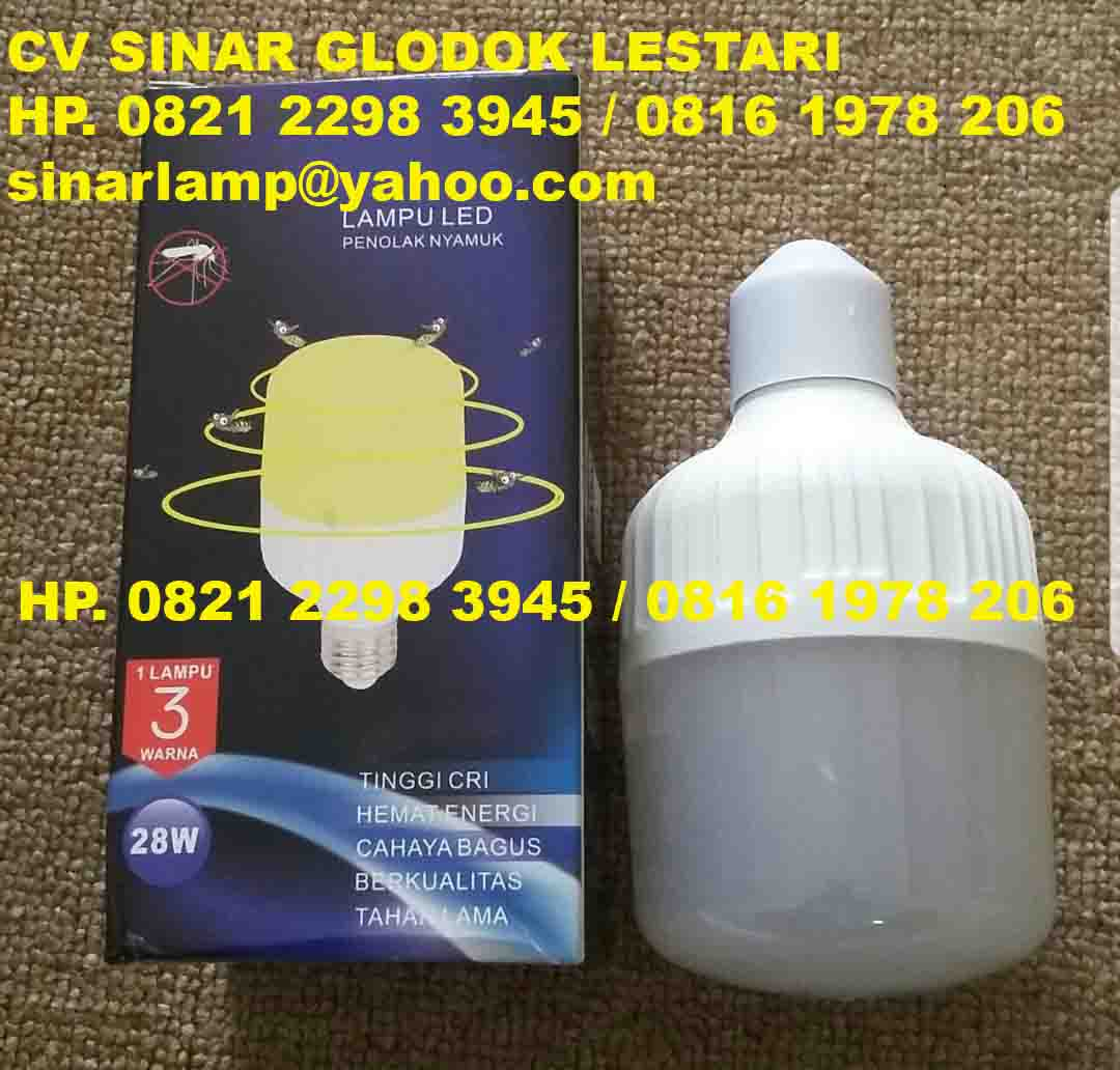 Lampu Anti Nyamuk Yellow Bulb  28 watt