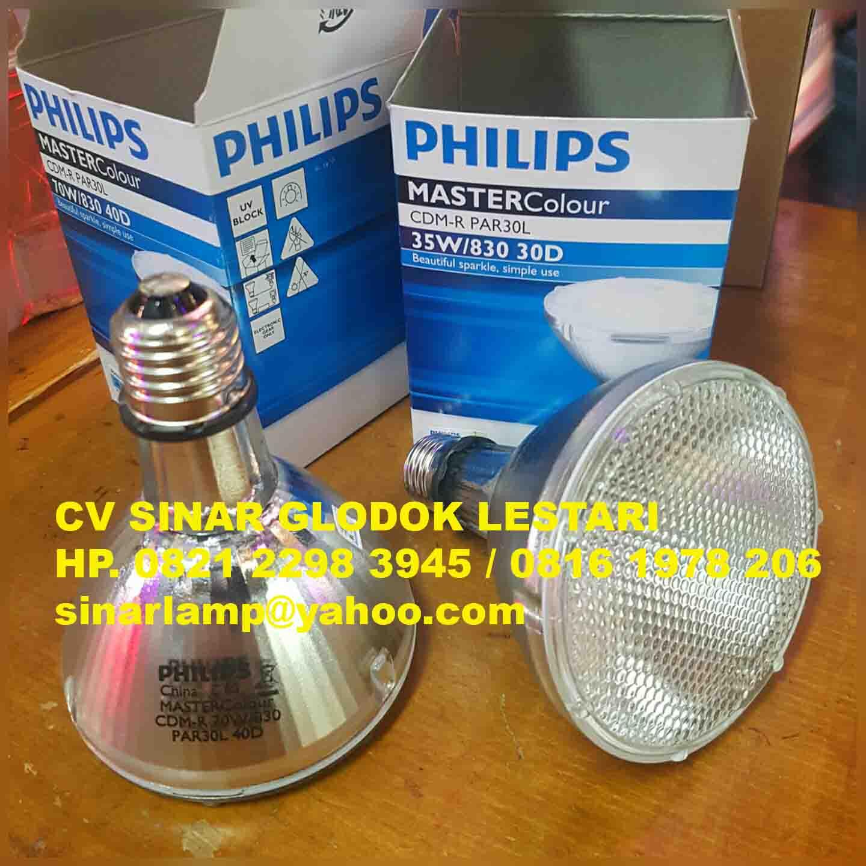 Lampu Philips Cdm R Par30 35w 830 E27 30d