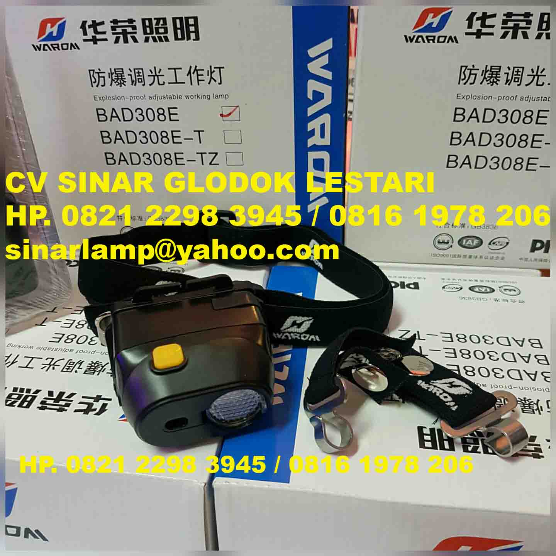 Head Lamp Explosion Proof BAD308E Warom
