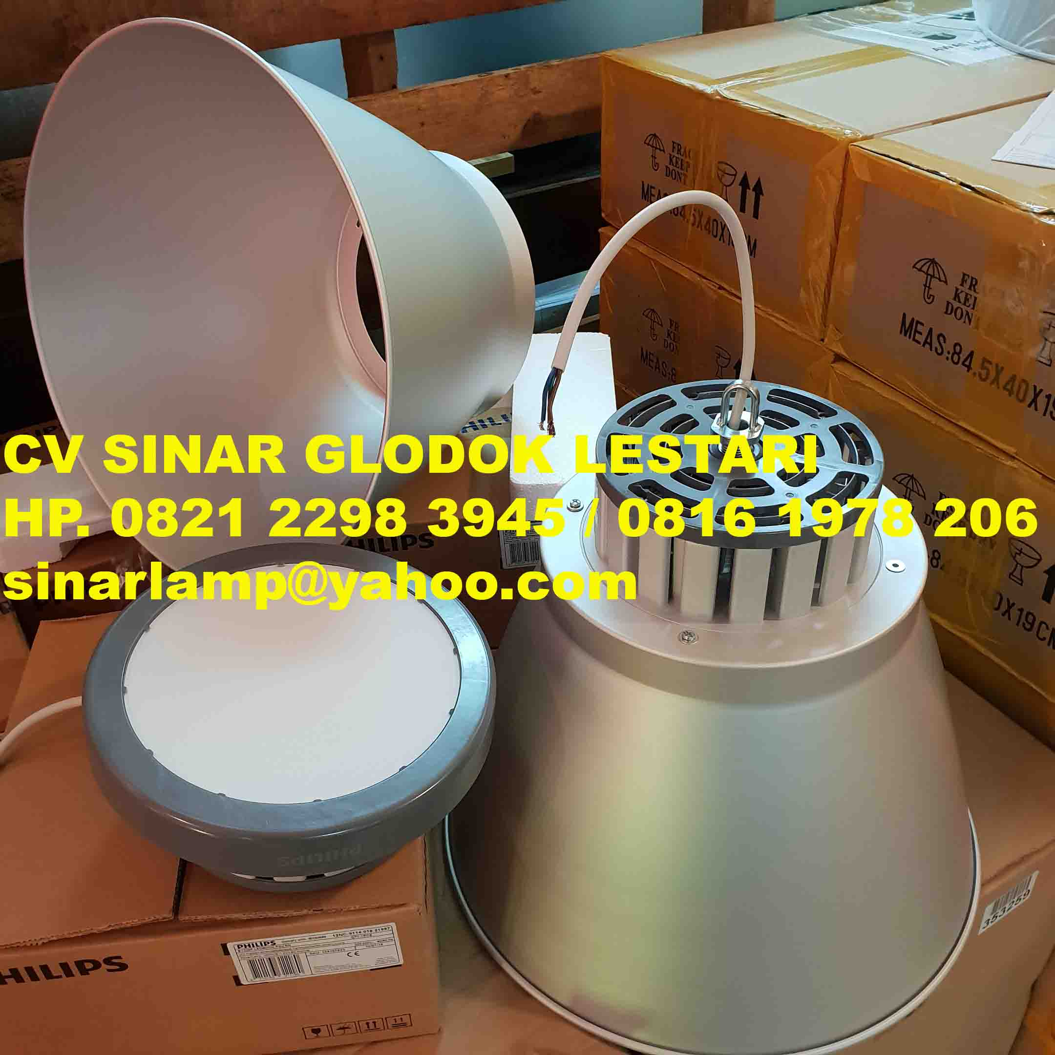 Lampu High Bay Philips 100W BY228P LED90 CW EN SmartBright