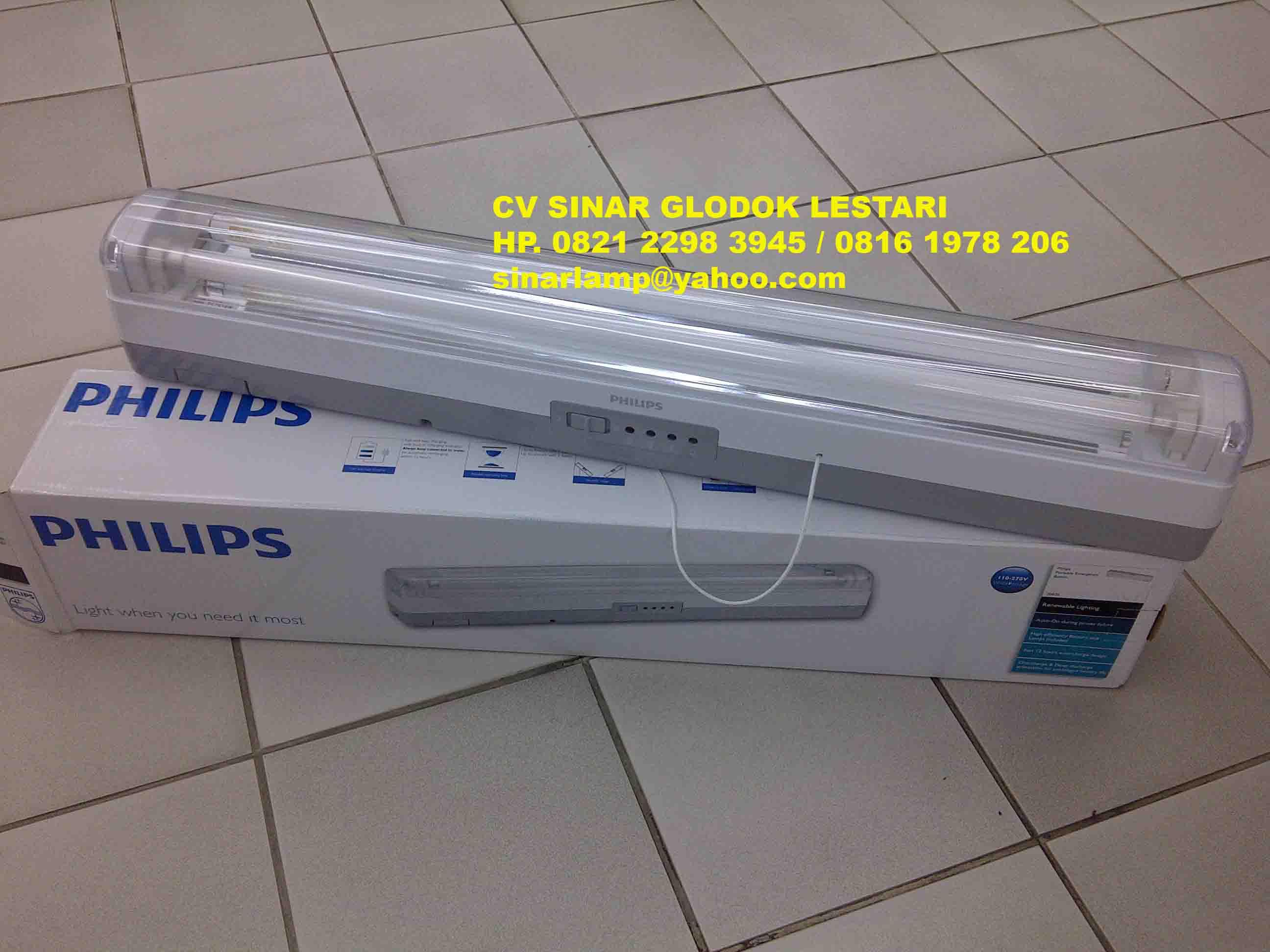 Lampu Emergency TWS 101 PHILIPS
