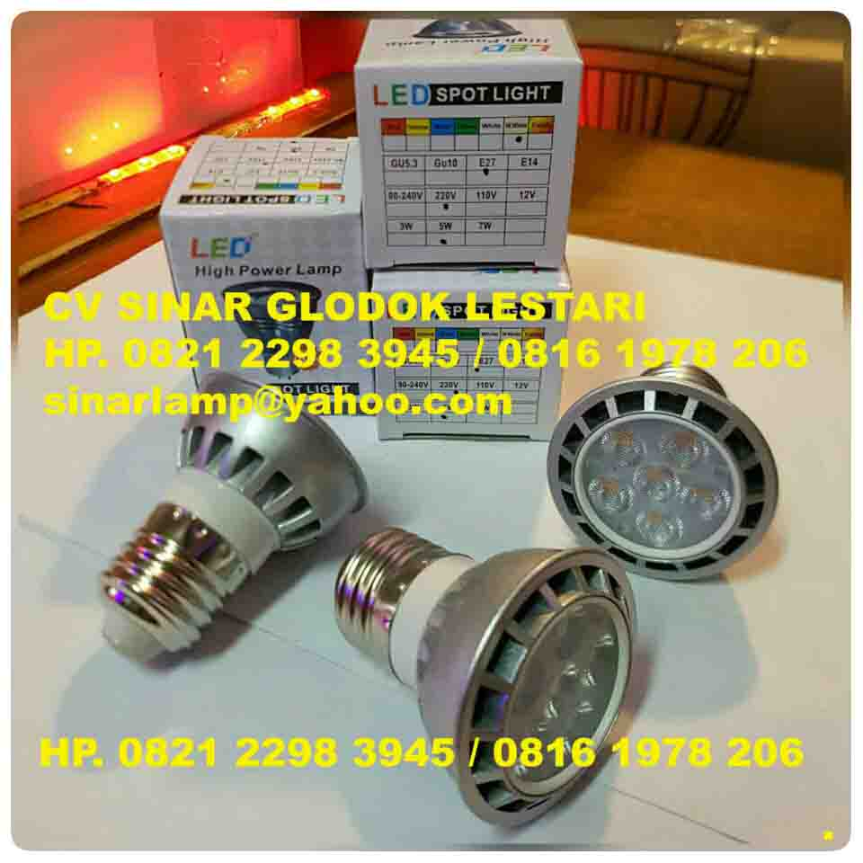 Lampu LED Spotlight 6 watt e27