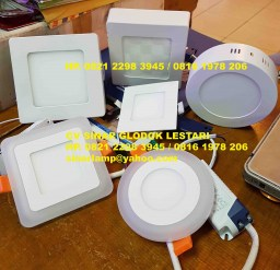 Downlight Led Panel 2 Warna, Outbow dan Mozaik