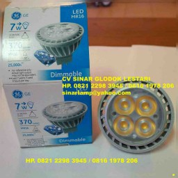 Lampu GE LED MR16 7W Dimmable