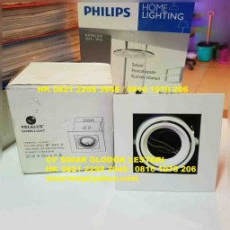 Lampu Downlight Halogen mr16 Velalux