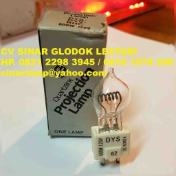 Lampu Halogen GE Projection Lamp DYS 120V 600W