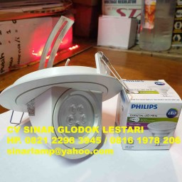 Downlight Keong Halogen LED MR16 Philips 4.5W 3000K