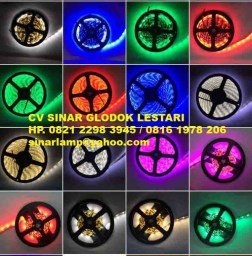 Lampu LED Strip 12 volt 5 meter