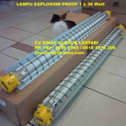 Lampu Anti Ledak Explosion Proof 1 x 36 Watt