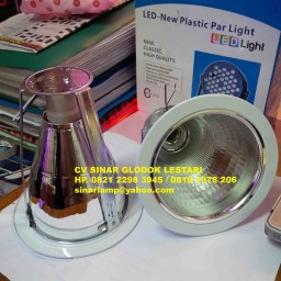 Kap Lampu Downlight 5inch Mirror STAR