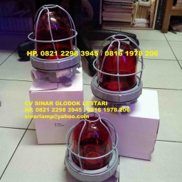 Lampu Tower Blizt red e27